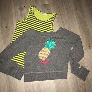 Roxy Girl 2-piece Tank /Sweatshirt